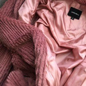 Cotton Candy Jackets & Coats - Cotton Candy LA pink Fur Coat